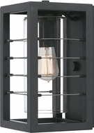 Quoizel BIM8407EK Bimini Earth Black Outdoor 7  Light Sconce