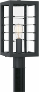 Quoizel BIM9008EK Bimini Earth Black Outdoor Post Lighting