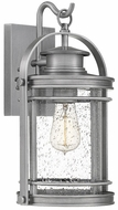 Quoizel BKR8408IA Booker Industrial Aluminum Outdoor 9  Wall Lamp