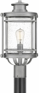 Quoizel BKR9010IA Booker Industrial Aluminum Outdoor Post Lighting
