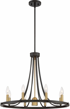 Quoizel BLD5008DC Ballard Modern Dark Cherry Halogen Lighting Chandelier