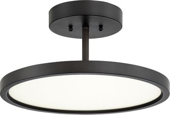 Quoizel BLW1715OI Beltway Contemporary Oil Rubbed Bronze LED Ceiling Light