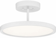Quoizel BLW1715W Beltway Contemporary White Lustre LED Ceiling Lighting