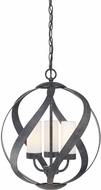 Quoizel BMS2816OK Blacksmith Contemporary Old Black 16  Pendant Lighting Fixture