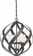 Quoizel BMS2820OK Blacksmith Modern Old Black 19.5  Hanging Pendant Lighting