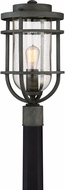 Quoizel BRD9010MB Boardwalk Modern Mottled Black Outdoor Post Lighting