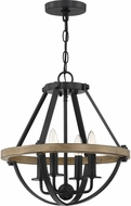 Quoizel BRL1716EK Bartlett Earth Black 16  Pendant Lamp