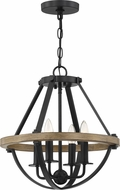Quoizel BRL2816EK Bartlett Earth Black Foyer Lighting