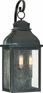 Quoizel BRS8409AGV Branson Traditional Aged Verde Outdoor 9  Light Sconce