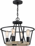 Quoizel BRT2817GK Brockton Modern Grey Ash Lighting Pendant
