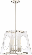 Quoizel BSS5204PK Boundless Contemporary Polished Nickel Drop Lighting