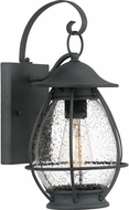Quoizel BST8407MB Boston Mottled Black Exterior 7  Lighting Sconce