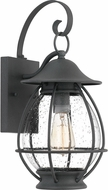 Quoizel BST8409MB Boston Mottled Black Outdoor 8.5  Lamp Sconce