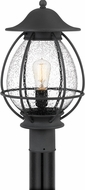 Quoizel BST9011MB Boston Mottled Black Outdoor Lamp Post Light