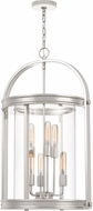 Quoizel BTE5206PK Baltimore Modern Polished Nickel 19.5  Foyer Light Fixture