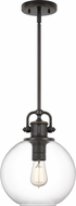 Quoizel BTO1510PN Britton Modern Palladian Bronze Mini Hanging Pendant Lighting