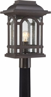 Quoizel CAT9011PN Cathedral Palladian Bronze Outdoor Lamp Post Light