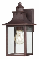 Quoizel CCR8406CU Chancellor 11 Inch Tall Outdoor Small Wall Light Sconce