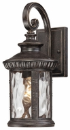 Quoizel CHI8407IB Chimera Traditional Outdoor Bronze 15.5 Inch Tall Wall Light Fixture