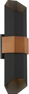Quoizel CHS8407MBK Chasm Modern Matte Black Outdoor Wall Sconce Lighting