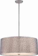 Quoizel CKCF2825OS Confetti Contemporary Old Silver Drum Hanging Light Fixture