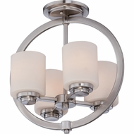 Quoizel CLT1714BN Celestial Modern Brushed Nickel Finish 15  Tall Ceiling Light Fixture