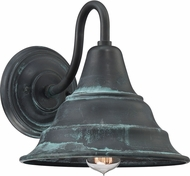 Quoizel CML8411AGV Carmel Aged Verde Outdoor 11  Lighting Wall Sconce