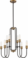 Quoizel CNL5008WT Channel Contemporary Western Bronze Chandelier Lamp