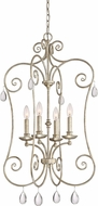 Quoizel CNT5204VG Chantelle Vintage Gold Foyer Light Fixture