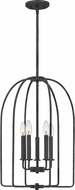 Quoizel COL5216MK Cornell Marcado Black Foyer Lighting Fixture