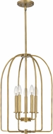 Quoizel COL5216WS Cornell Weathered Brass Entryway Light Fixture