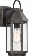Quoizel CPB8407SPB Campbell Speckled Black Outdoor 6.5  Sconce Lighting