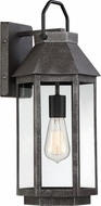 Quoizel CPB8408SPB Campbell Speckled Black Exterior 8  Light Sconce