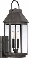 Quoizel CPB8409SPB Campbell Speckled Black Outdoor 9.5  Lighting Sconce