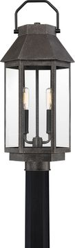 Quoizel CPB9009SPB Campbell Speckled Black Exterior Post Lamp