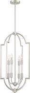 Quoizel CPL5204BN Chapel Modern Brushed Nickel Foyer Lighting Fixture