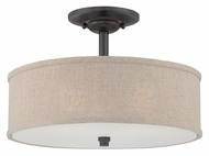 Quoizel CRA1717MC Cloverdale Textured Shade 17 Inch Diameter Overhead Lighting - 17 Inch Diameter