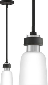 Quoizel CRD1505BN Conrad Contemporary Brushed Nickel Mini Hanging Lamp