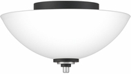 Quoizel CRD1613BN Conrad Contemporary Brushed Nickel Ceiling Light Fixture