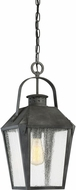 Quoizel CRG1910MB Carriage Traditional Mottled Black Outdoor Pendant Lighting