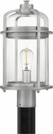 Quoizel CRN9009IA Carrington Modern Industrial Aluminum Outdoor Lamp Post Light