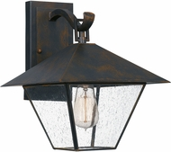 Quoizel CRP8411IZ Corporal Traditional Industrial Bronze Exterior 10.5 Wall Light Sconce