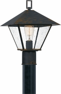 Quoizel CRP9011IZ Corporal Traditional Industrial Bronze Outdoor Post Light