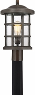 Quoizel CSE9010PN Crusade Palladian Bronze Outdoor Post Light