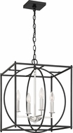 Quoizel CSW5204EK Crosswise Contemporary Earth Black 18  Entryway Light Fixture