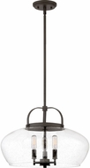 Quoizel CTP2818OZ City Park Modern Old Bronze Pendant Light Fixture