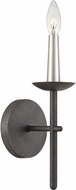 Quoizel CUT8701RK Cutler Rustic Black Wall Lighting