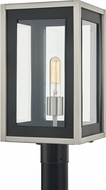 Quoizel CVY9009MBK Convoy Contemporary Matte Black Exterior Lighting Post Light