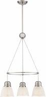 Quoizel DBN5103BN Dublin Brushed Nickel Mini Hanging Chandelier