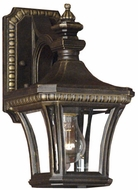 Quoizel DE8958IB Devon 12.5 inches tall wall outdoor light fixture in imperial bronze